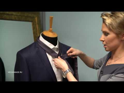 Как завязать галстук: Узел Виндзор.