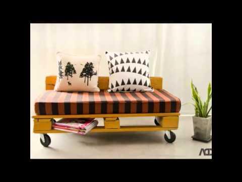 Мебель для дачи своими руками. Поделки из поддонов