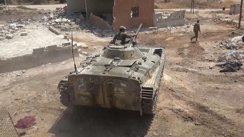 Сирийская армия штурмует Хан-Шейхун