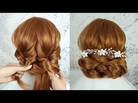 Latest Hairstyles For Bridal - Best Wedding Hairstyles For Long Hair |New Party Hairstyles For Girls