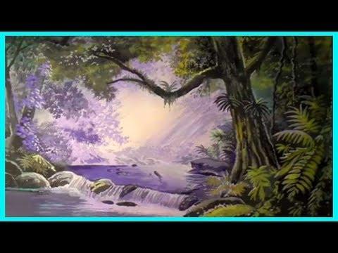 Тропический пейзаж гуашью рисуем поэтапно. Как нарисовать пейзаж для начинающих