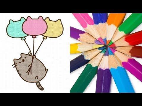 Милые простые рисунки   Рисовать легко   Уроки рисования для начинающих #1