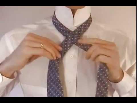 Как завязывать галстук узлом Виндзор | видео про Галстук
