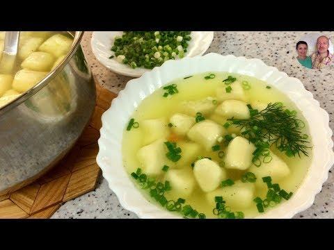 Легкий Суп с Галушками, которые Тают во Рту!