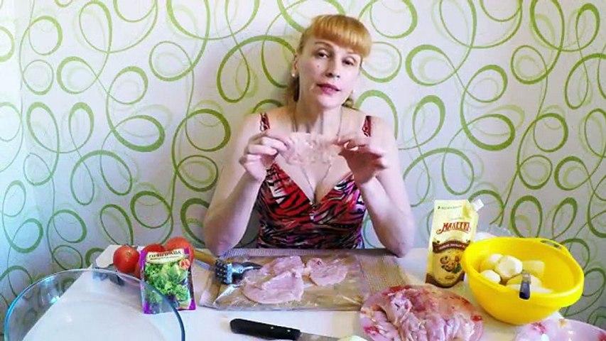 Как приготовить мясо по французски рецепт Секрета блюда с картошкой в духовке