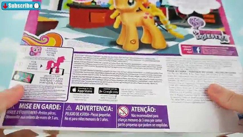 Мой маленький пони Эпплджек Кьюти Заковыристое сделать Плойкой прически для детской площадки МЛП игр