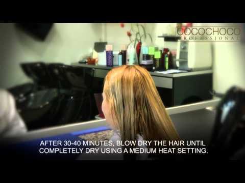 COCOCHOCO Professional - advanced complex Brazilian keratin hair straightening treatment