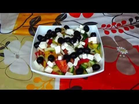 Греческий салат. Греческий салат рецепт. Салат греческий класический.