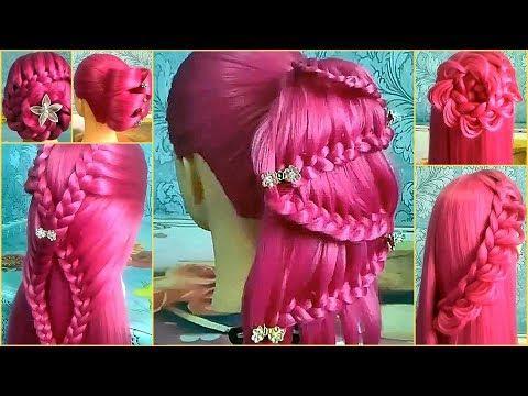 Красивые прически пошагово / Легкое плетение волос / Прически для длинных и средних волос