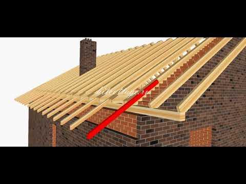 Строительство крыши пошагово  Поймут все