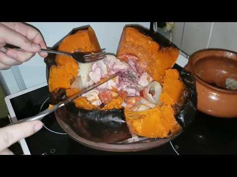 """Как приготовить """"Тыквамясо куриный фаршированнаямясоми картошкой"""" пошагово с фото в ...Тыквунате"""