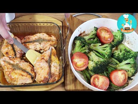 Рыба Форель, запеченная в духовке: рецепт, как приготовить рыбу с овощами пошагово