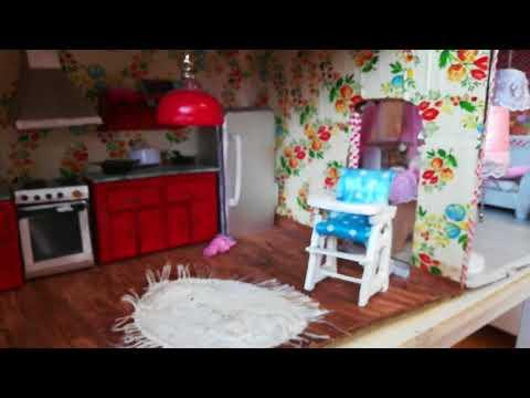 Кукольный домик своими руками/мебель для кукол/dolls