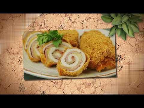 Готовим Куриные рулетики с грибами и сыром в сметанном соусе. Вкусный рецепт куриных рулетиков