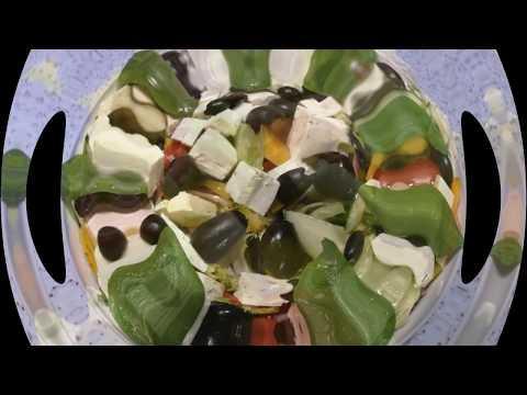 Греческий салат по особенному. Как приготовить греческий салат пошагово.