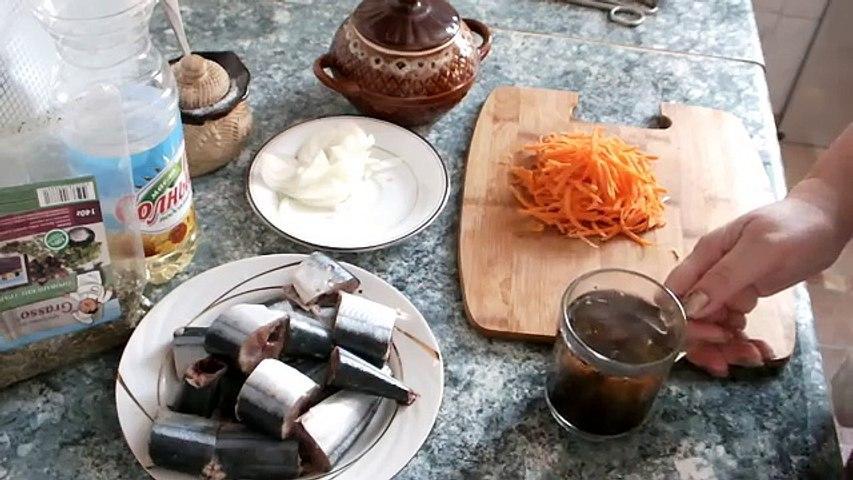Рыба сайра в горшочке запеченная в духовке очень вкусный рецепт