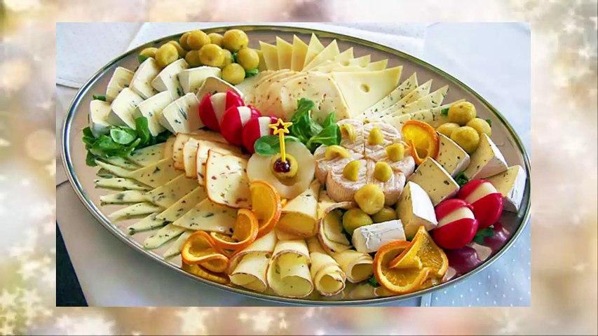 Оригинальное Украшение праздничных блюд Украшение салатов Decoration of salads
