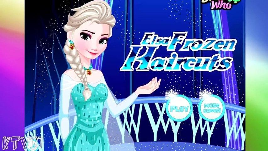Frozen Anna Haircuts (Холодное сердце: прически Анны) - прохождение игры