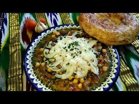 """""""МОХОРА""""суп. Узбекская восточная кухня. Пошаговый рецепт #soup #вкусняшки #нут #супы #топсупов #sopa"""